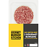 Gourmet Burger Kitchen 2 x 6oz Beef Burgers (342g)
