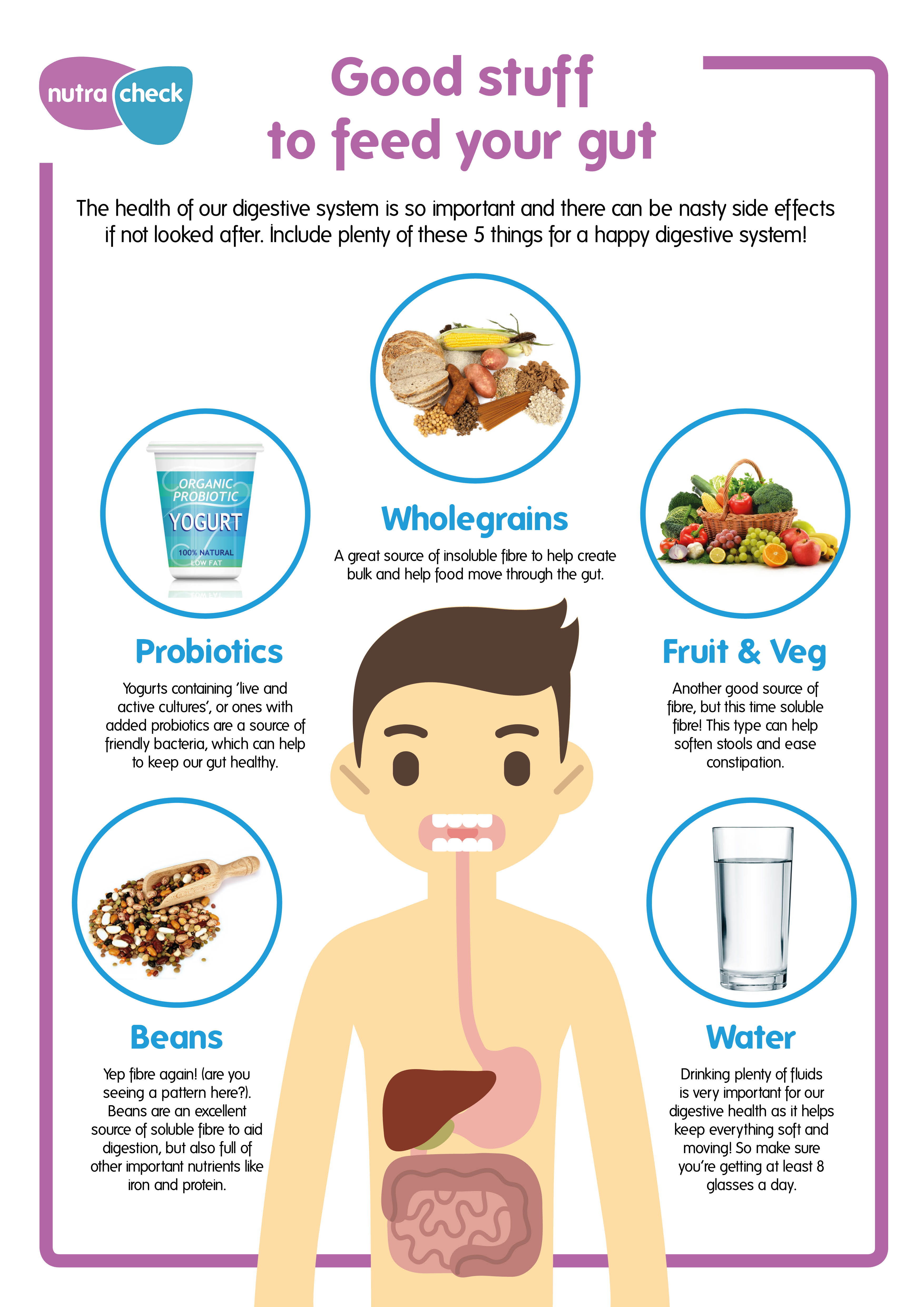 Digestive Health day Infograph