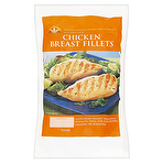 Harvest Frozen Skinless & Boneless Chicken Breast Fillets With Added Water 500g