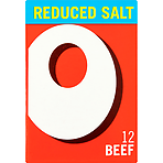 Oxo Reduced Salt Beef Stock Cubes 12