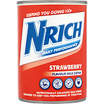 Nrich Daily Performance Strawberry Flavour Milk Drink 370ml