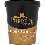 Purbeck Serious Chocolate Ice Cream 500ml