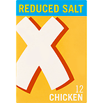 Oxo Reduced Salt Chicken Stock Cubes 12