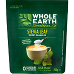 Whole Earth Sweetener Co. Stevia Leaf Sweet Granules 250g