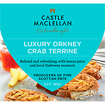 Castle MacLellan Luxury Orkney Crab Terrine with Lemon Juice and Mustard 113g