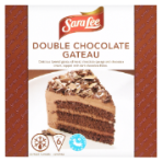 Chocolate gateau sara lee