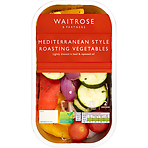 Waitrose Mediterranean Roasting Vegetables 400g