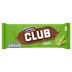 Calories In Mcvities Club Mint Chocolate Biscuit Bar 22g