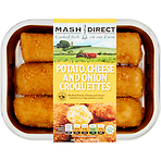 Mash Direct Potato, Cheese and Onion Croquettes 300g