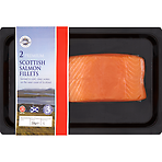 New England Seafood 2 Premium Scottish Salmon Fillets 230g
