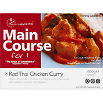 Eazycuizine Main Course for 1 Red Thai Chicken Curry 400g