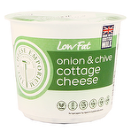 Enjoyable Calories In Aldi Low Fat Onion Chive Cottage Cheese 300G Download Free Architecture Designs Scobabritishbridgeorg