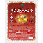Durmaz Green Olives Stuffed with Paprika 450g
