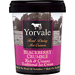 Yorvale Blackberry Crumble Ice Cream 500ml