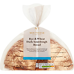 Waitrose 1 Rye and Wheat Dark Sourdough Bread 500g