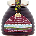 Heather Hills Farm Scottish Blackcurrant Jam 340g
