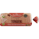 Morrisons Baked by Us Toastie Wholemeal Loaf 800g