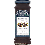 St. Dalfour Black Cherry High Fruit Content Spread 284g