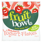 Fruit Bowl Strawberry Yogurt Flakes 21g