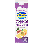 Sqeez Tropical Juice Drink from Concentrate 1 Litre
