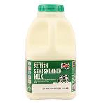 Calories in Aldi Cowbelle Semi Skimmed Milk 1 Pint