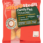 Glens of Antrim Potatoes Microsteam Family Pack Potatoes 1kg