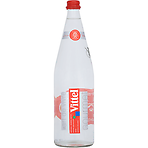 Vittel Natural Mineral Water 1l Glass Bottle