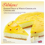 Indulgence Passion Fruit & White Chocolate Cheesecake 527g