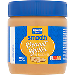 Island Sun Smooth Peanut Butter 340g