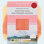Waitrose Mild Scottish Oak Smoked Salmon 100g