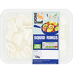 Lyons Seafood Co Squid Rings 130g
