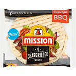 Mission 8 Chargrilled Wraps