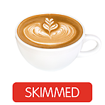 Costa Coffee Flat White (Skimmed Milk)