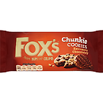 Fox's Chunkie Cookies Extremely Chocolatey 175g