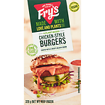 Fry's Meat Free 4 Chicken-Style Burgers 320g