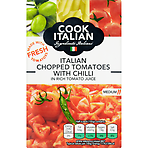 Cook Italian Chopped Tomatoes with Chilli 390g