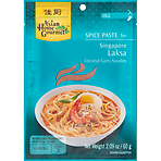 Asian Home Gourmet Spice Paste for Singapore Laksa Coconut Curry Noodles 60g
