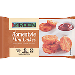 Yarden Homestyle Mini Latkes Grated Potato & Onion Pancakes 500g