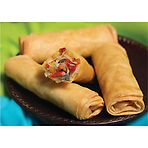 Daloon Classic Oriental Mixed Vegetable Filo Spring Rolls