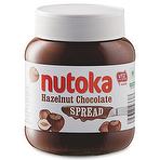Calories in Aldi Nutoka Hazelnut Chocolate Spread 400g
