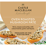Castle MacLellan Oven Roasted Mushroom Pâté with Garlic and Thyme 113g