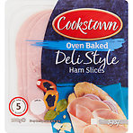 Cookstown Oven Baked Deli Style Ham 5 Slices 100g