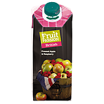 Fruit Passion British Pressed Apple & Raspberry Juice 750ml