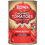 Roma Chopped Tomatoes in Tomato Juice 400g
