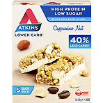 Atkins Cappuccino Nut Bar 5 x 30g