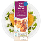 Calories In Tesco Free From Katsu Chicken Curry 400g