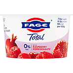 FAGE Total 0% Fat Free Greek Recipe Strained Yoghurt with Raspberry Pomegranate 170g