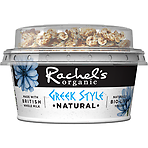 Rachel's Organic Greek Style Natural Breakfast Bio-Live Yogurt 135g