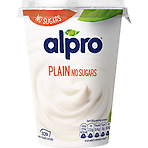Alpro Plain No Sugars Yoghurt Alternative 500g
