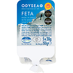 Odysea Mini Feta Cheese Snack Portions 5 x 30g